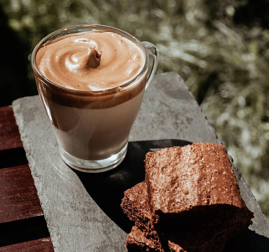 кофе с какао фото