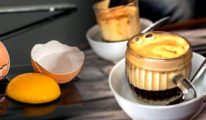 Рецепт кофе с желтком приготовление фото