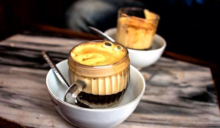 Рецепт кофе с желтком фото