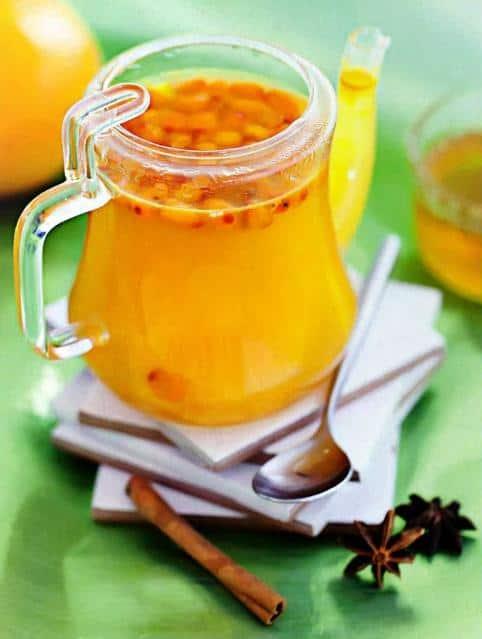 Чай с облепихой — рецепт