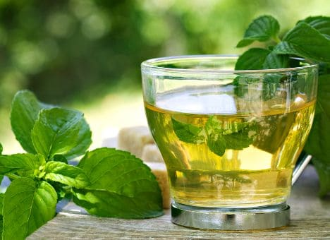 Мятный чай.Рецепт