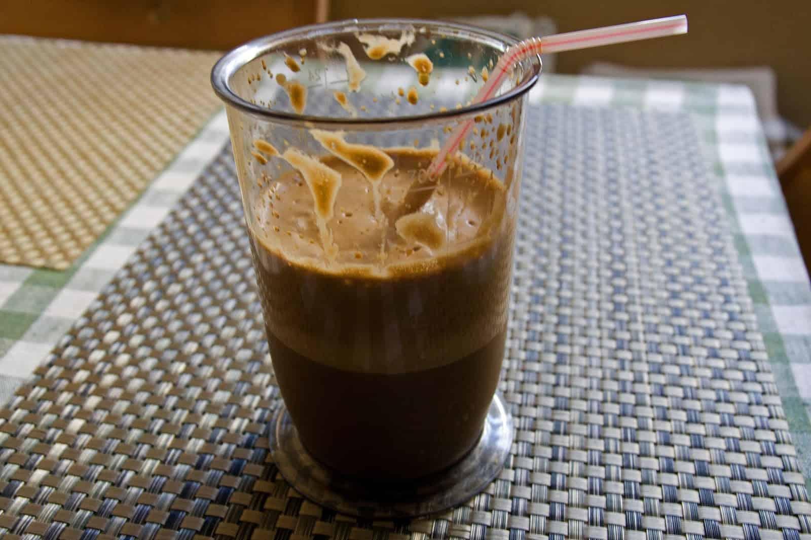 Кофе фраппе — рецепт