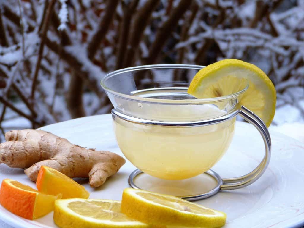 Чай с имбирем свойства фото