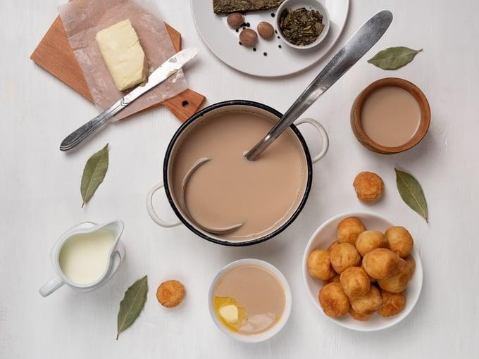 калмыцкий чая приготовление фото