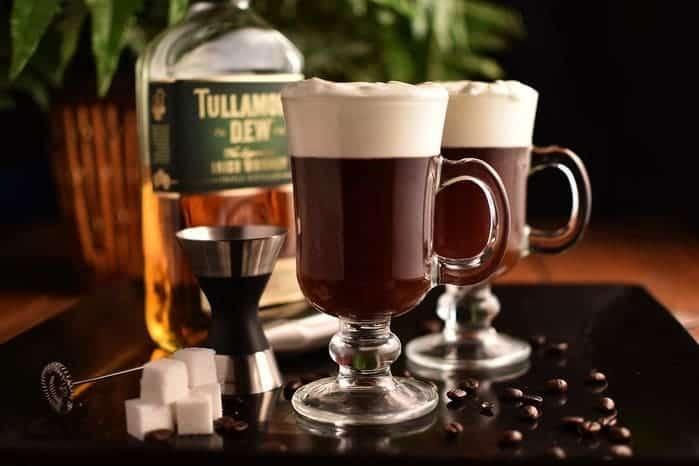 Кофе с виски фото
