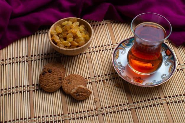 Чай с изюмом как приготовить фото