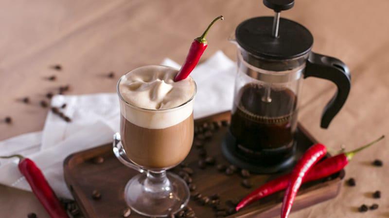 кофе с перцем фото