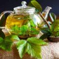 Чай из листьев смородины фото