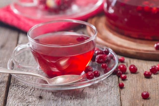 Чай с клюквой рецепт фото