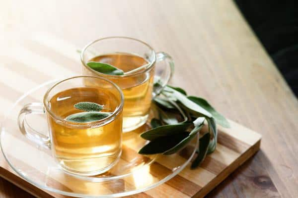 Чай с шалфеем приготовление фото