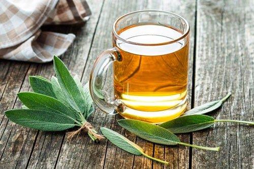 Чай с шалфеем рецепт фото