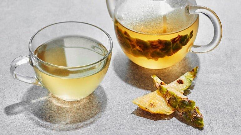 ананасовый чай фото