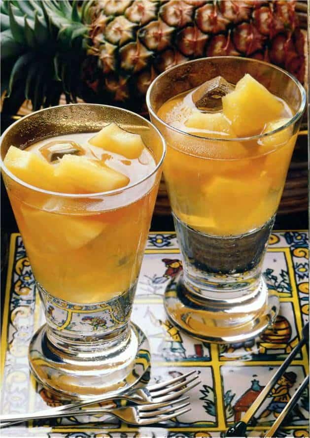 чай с ананасом