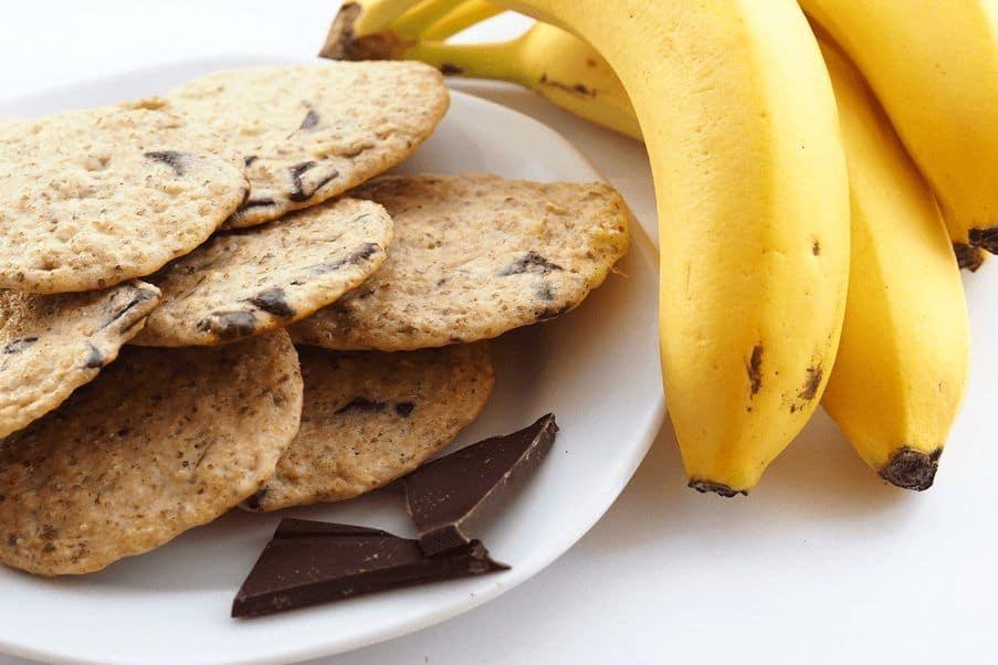 Банановое печенье фото