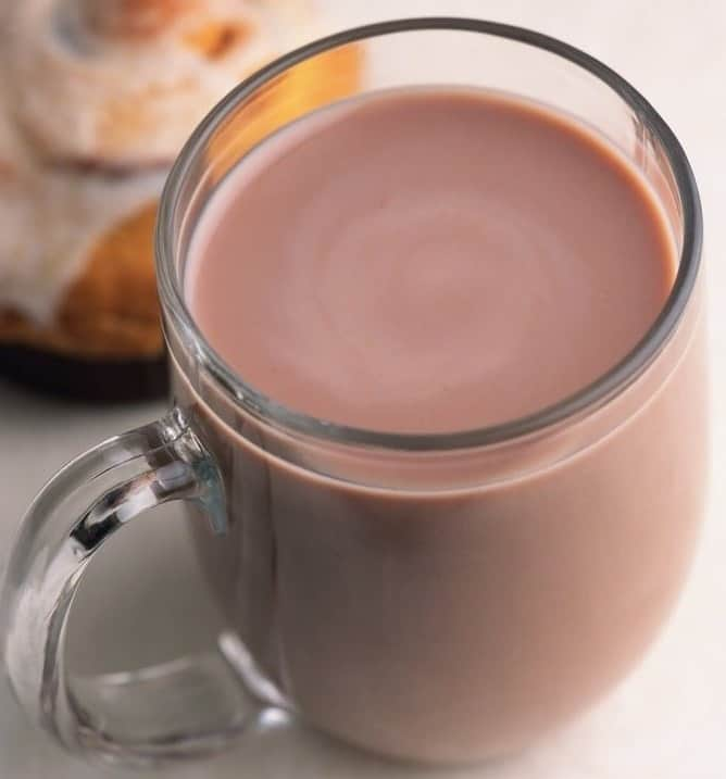 Какао на молоке — рецепт
