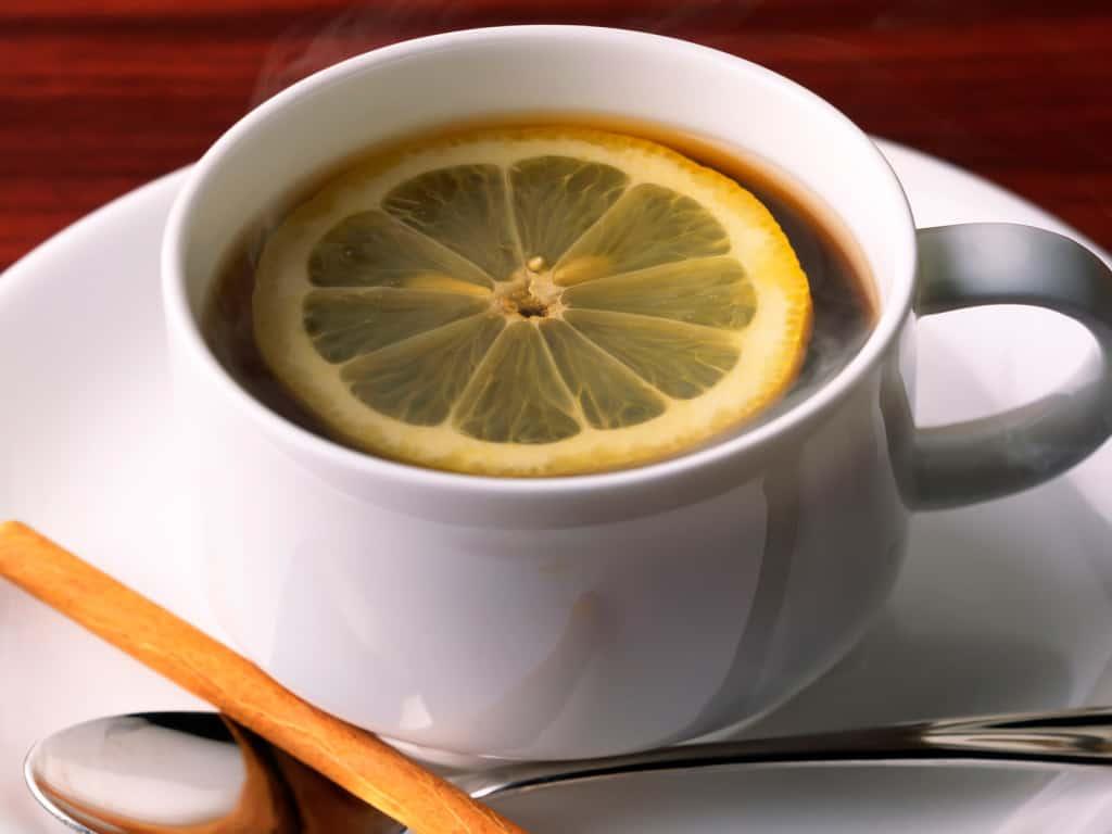 кофе с лимоном фото