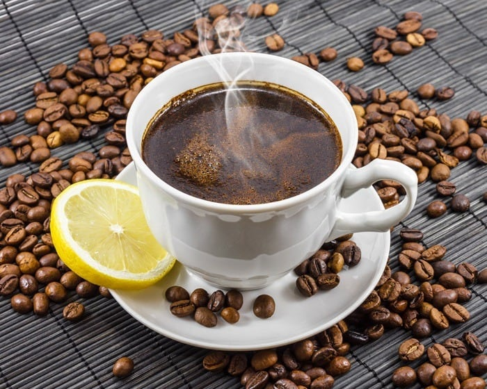 Рецепт кофе с лимоном