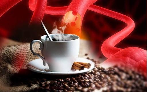кофе и сосуды фото