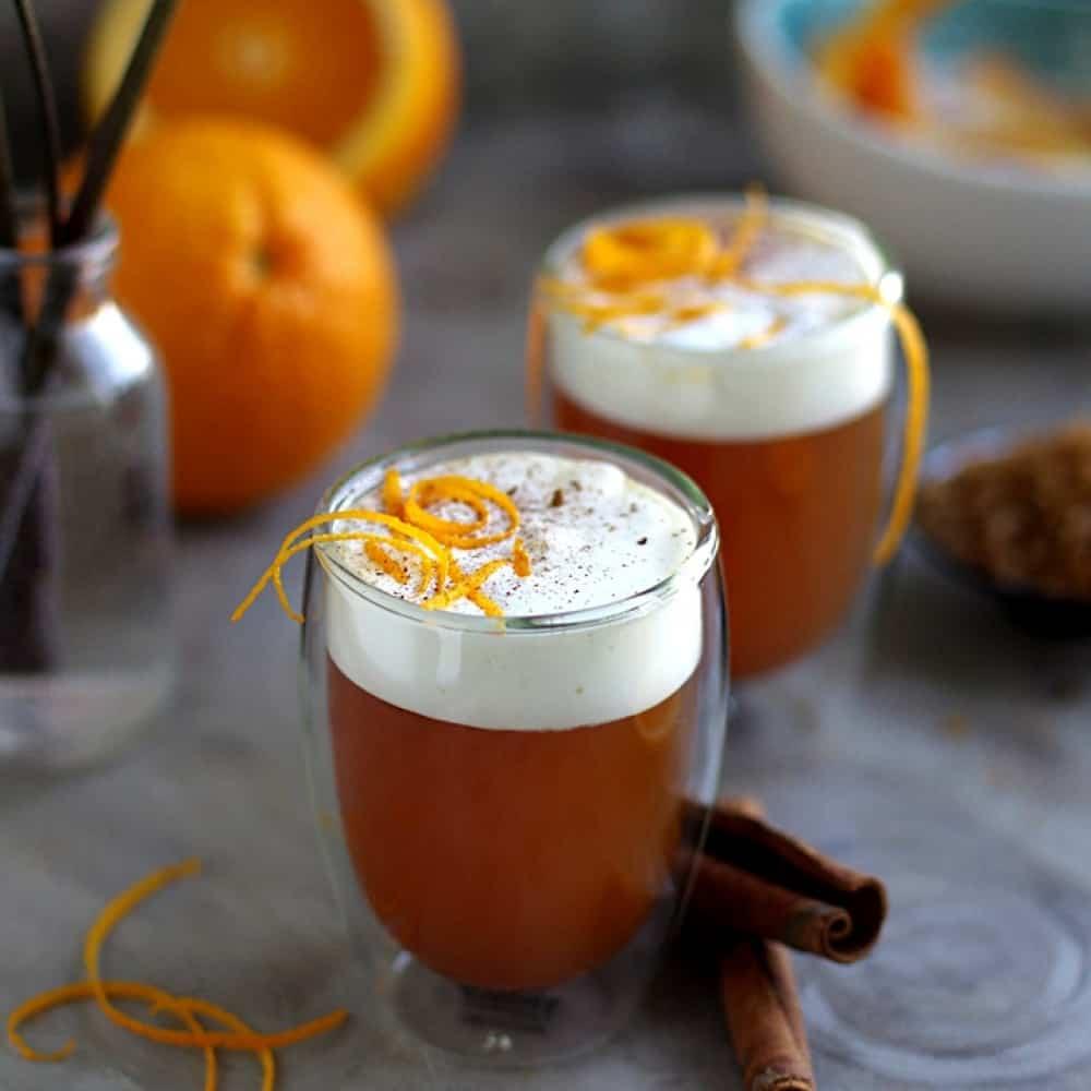 Кофе с апельсином как приготовить фото