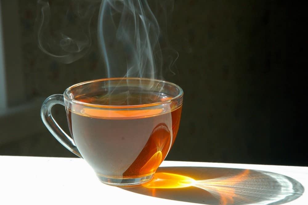 горячий чай фото