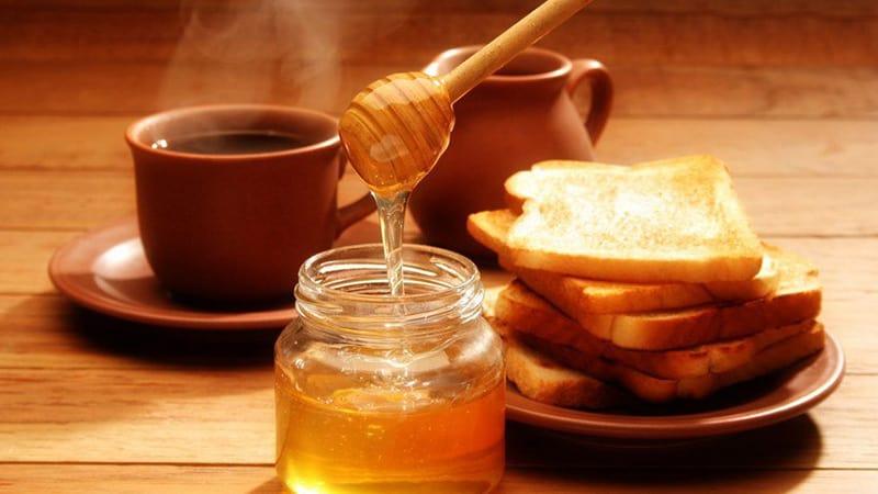 Кофе с мёдом и молоком фото