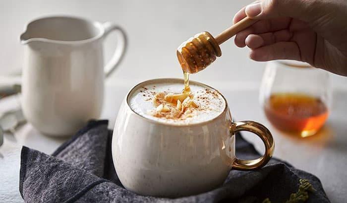 Кофе с мёдом фото