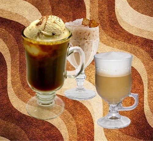 Безалкогольные кофейные коктейли