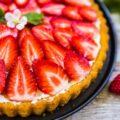 пирог с клубники фото