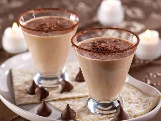 Шоколадный коктейль с кофе
