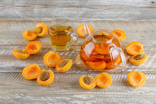 абрикосовый чай рецепт фото