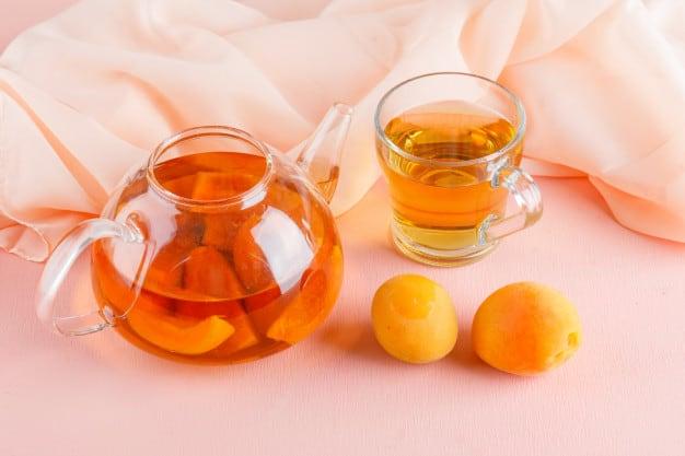 абрикосовый чай фото