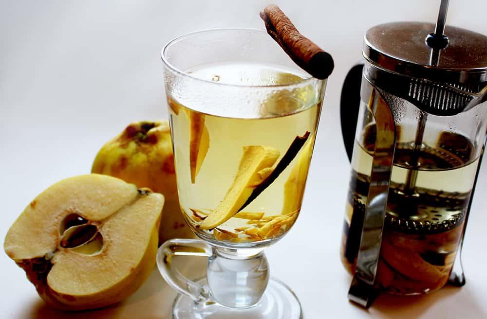 чай с айвой рецепт фото
