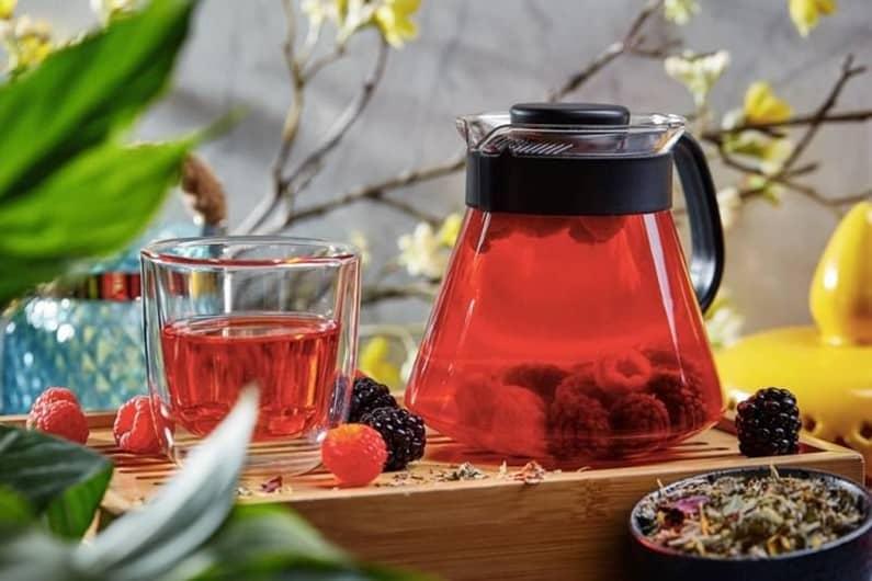 Чай с ежевикой как заварить фото