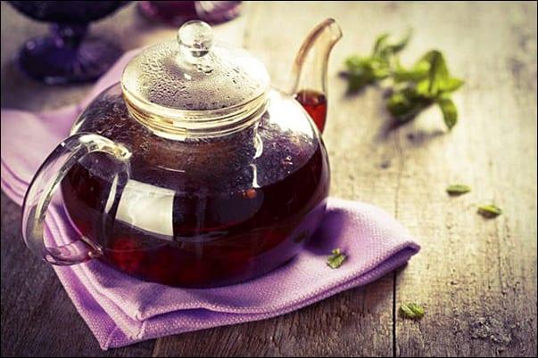 Чай с ежевикой приготовление фото
