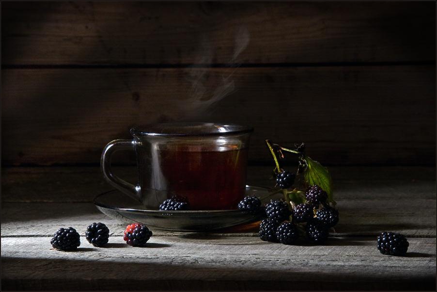 Чай с ежевикой рецепт фото