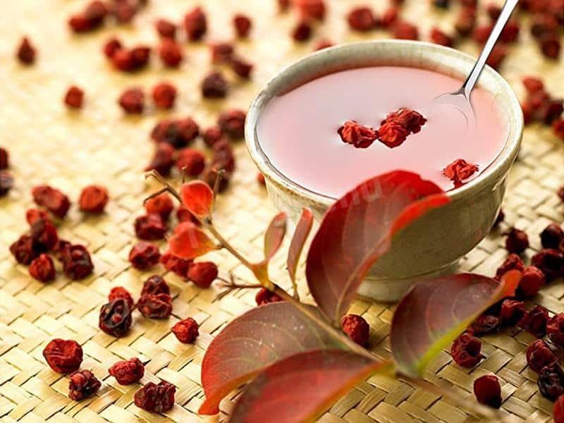Чай с китайским лимонником фото