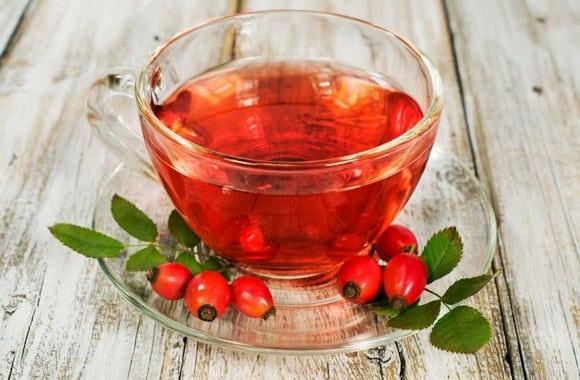 Чай с шиповником и мятой рецепт фото