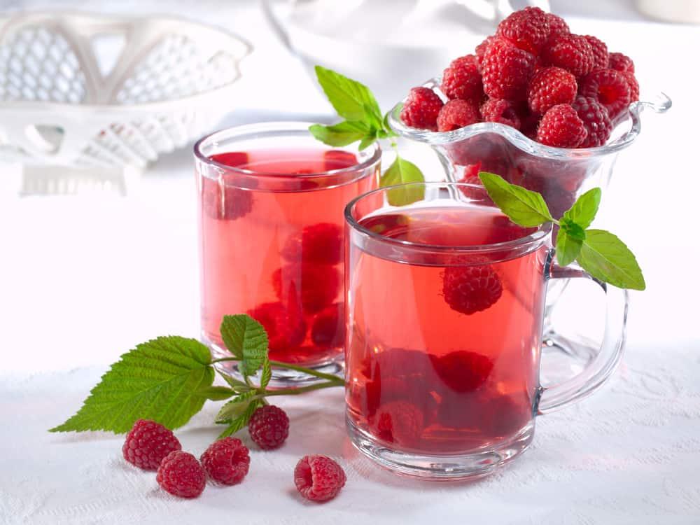 малиновый чай как заваривать фото