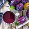 сливовый чай фото