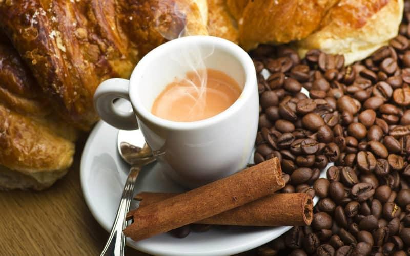 Кофе с корицей и медом фото