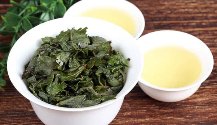 Те Гуань Инь чай заваренный фото