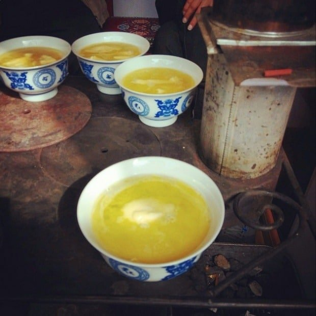 Чай в Тибете