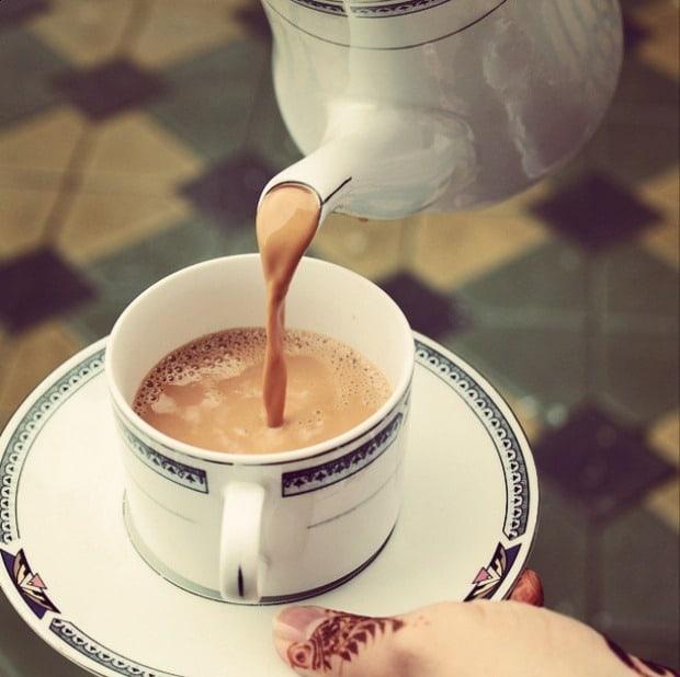 чай в катаре