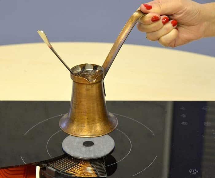 индукционный диск для турки