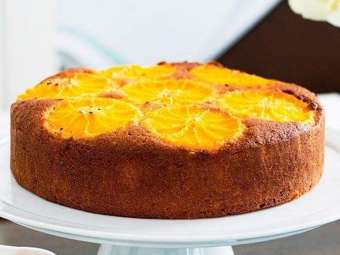 Апельсиновый пирог приготовление фото