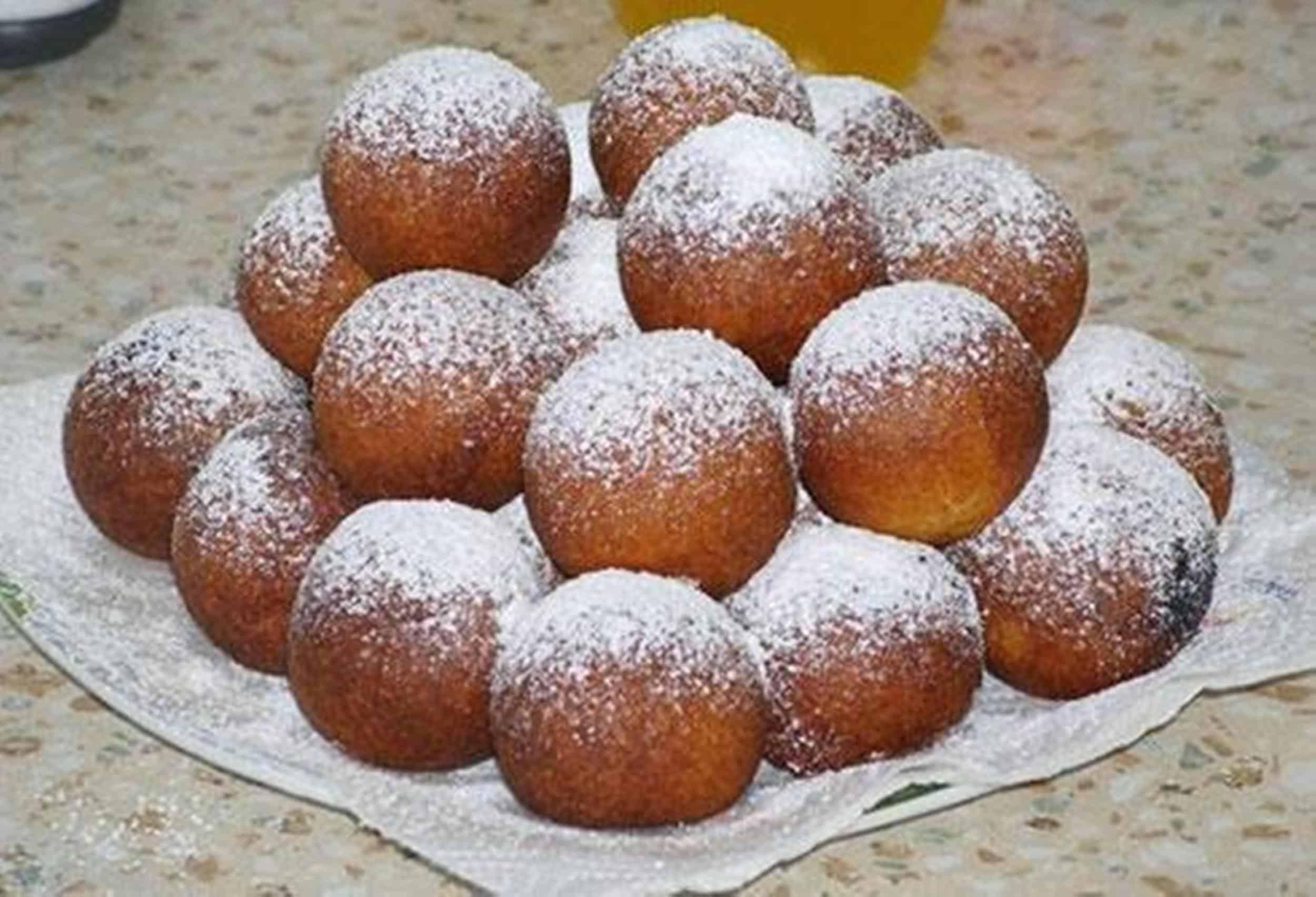 Творожные пончики — рецепты