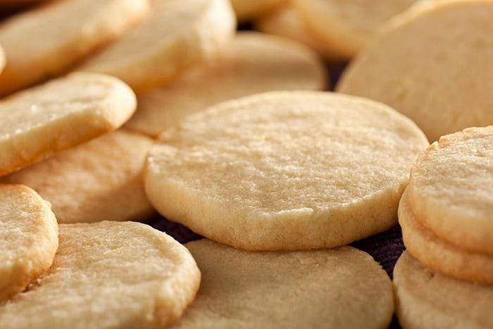 Быстрое печенье в духовке
