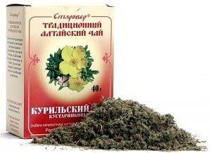 курильский чай лечебные свойства