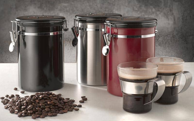 кофе и тара для хранения фото