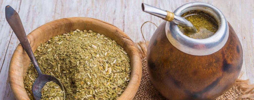 Парагвайский чай мате сухой фото